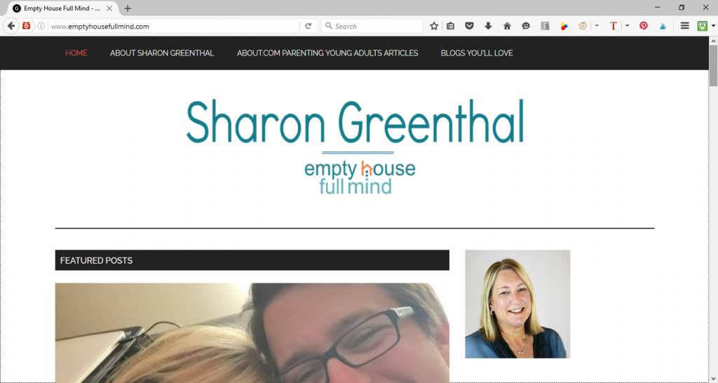 Empty House Full Mind by Sharon Greenthal