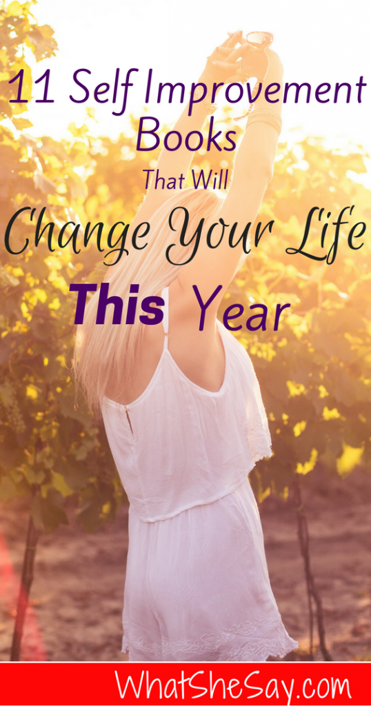 11 Self Improvement Books for Women That Will Change Your Life