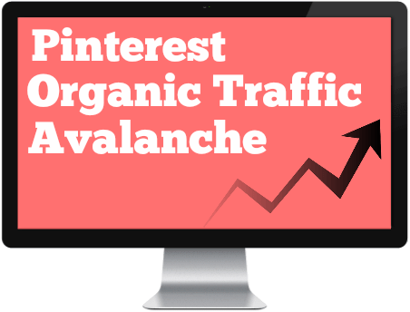 Pinterest Organic Traffic Avalanche review computer
