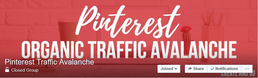 Pinterest Organic Traffic Avalanche on Facebook