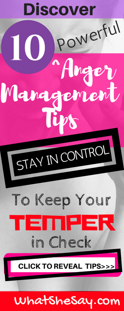 Pinterest pin for Anger Management for Adults Tips
