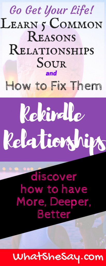 How to rekindle a relationship