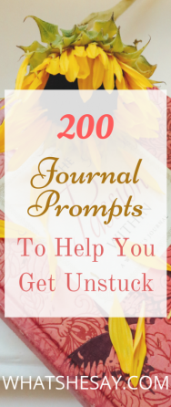 200 Journal Prompts That Will Have You Journaling Like A Pro