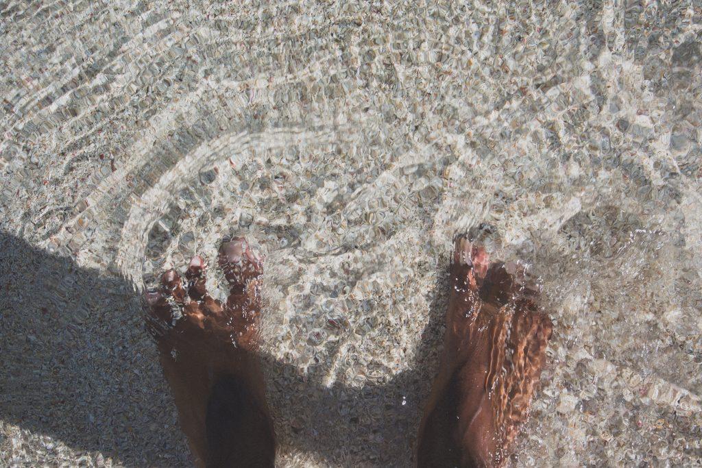 reduce stress - soak your feet
