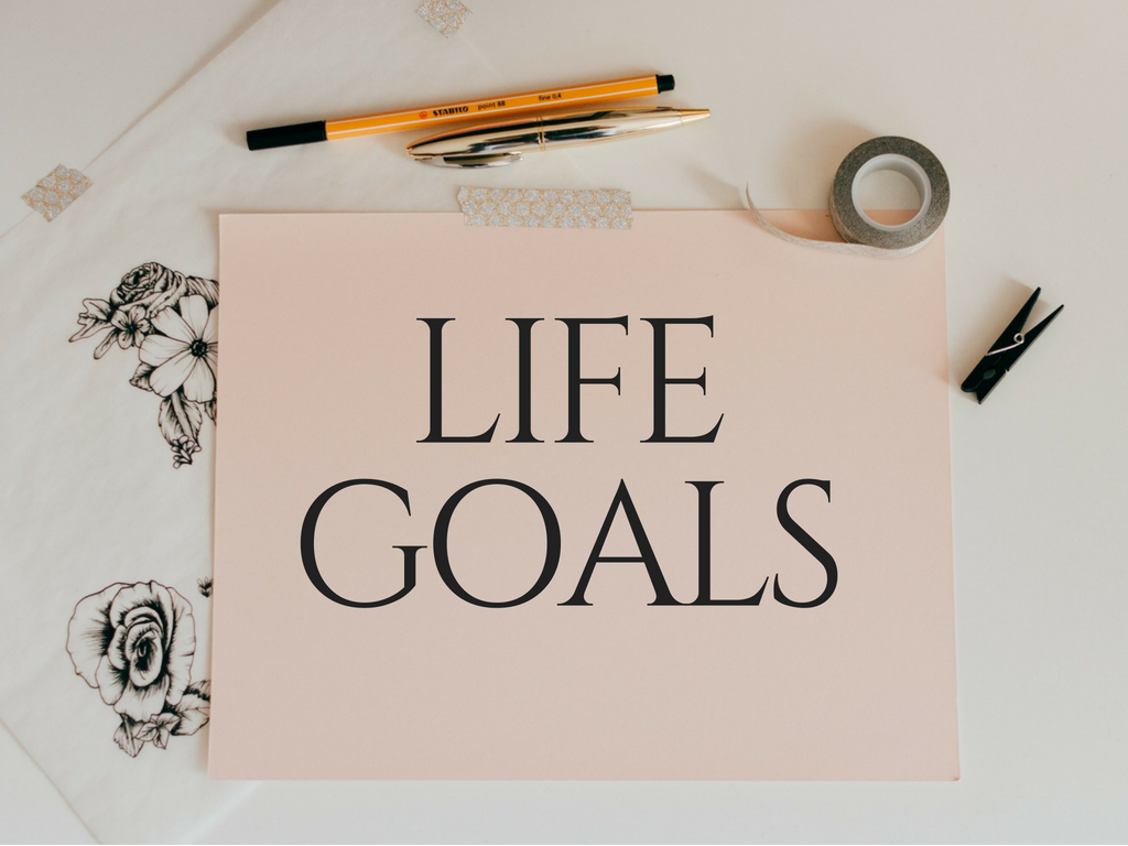establishing life goals