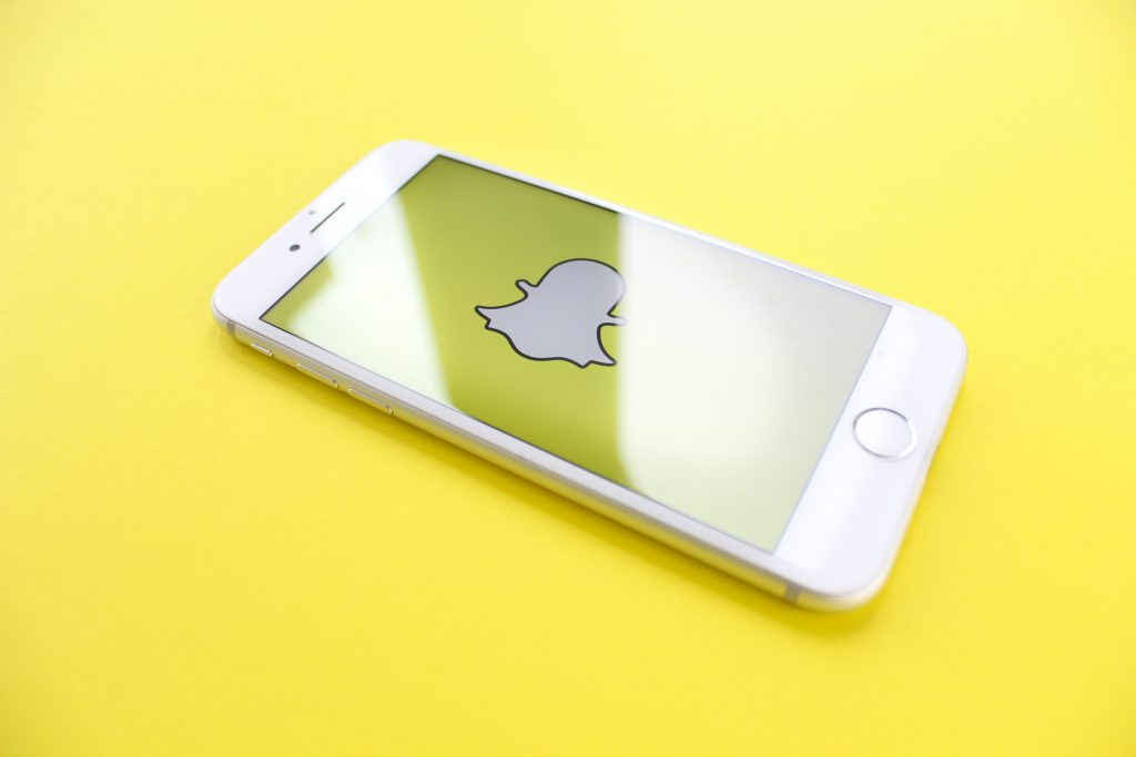 snapchat on iphone - procrastination and social media
