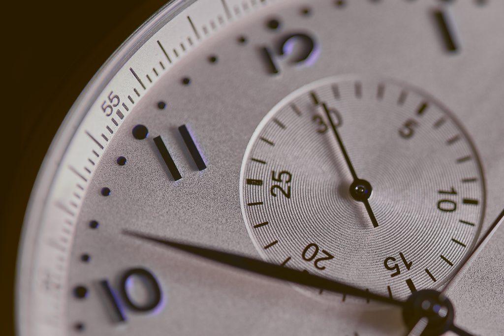 time clock - procrastination