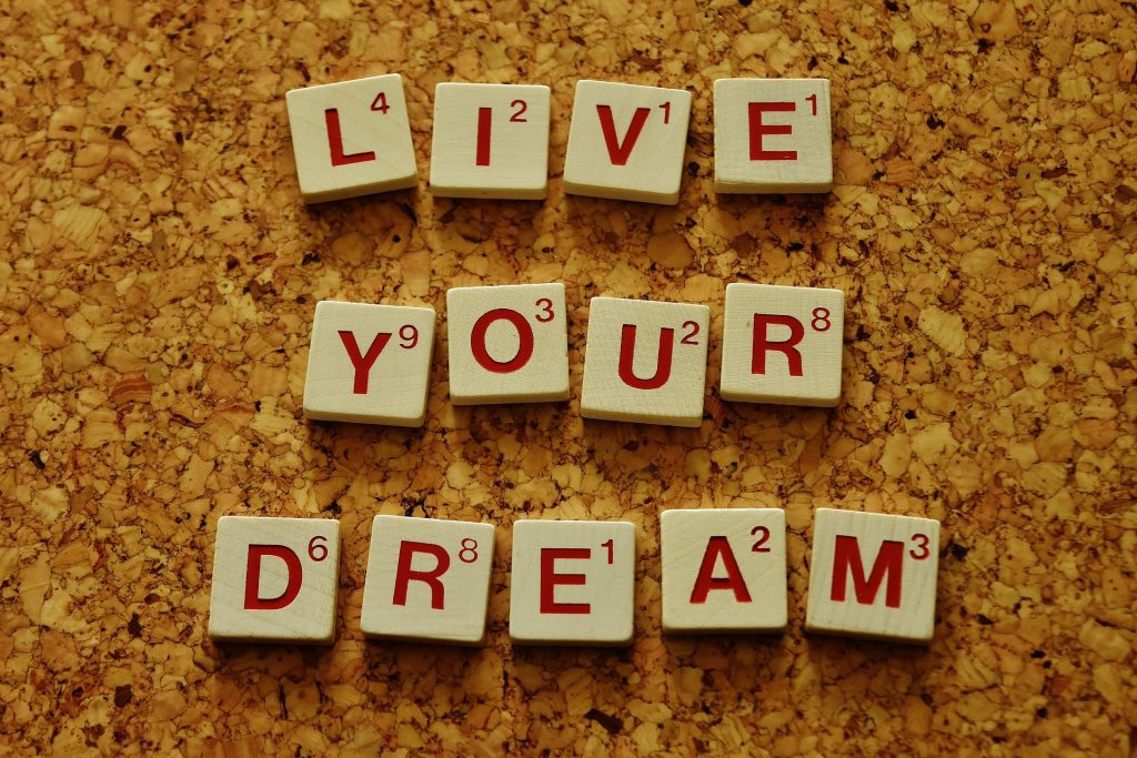 live-your-dream-goal setting