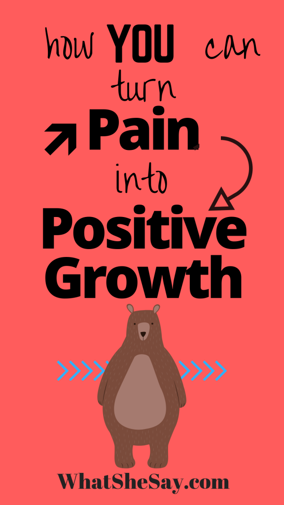 Pain is Growth